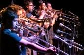 Broken Brothers Brass Band. Belchite Music Night. 22/6/19. Foto, Luis Lorente