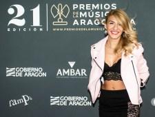 Silvia Cebolla / 21 Premios de la Música Aragonesa. Foto, Ángel Burbano