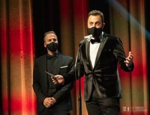 David Chapín / Sergio Falces / 21 Premios de la Música Aragonesa. Foto, Ángel Burbano