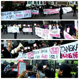 Aksi Anti Korupsi Malang