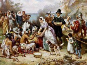 Mitos asal usul Thanksgiving pertama.