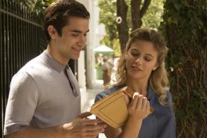 François (jeune) avec une fiancée potentielle