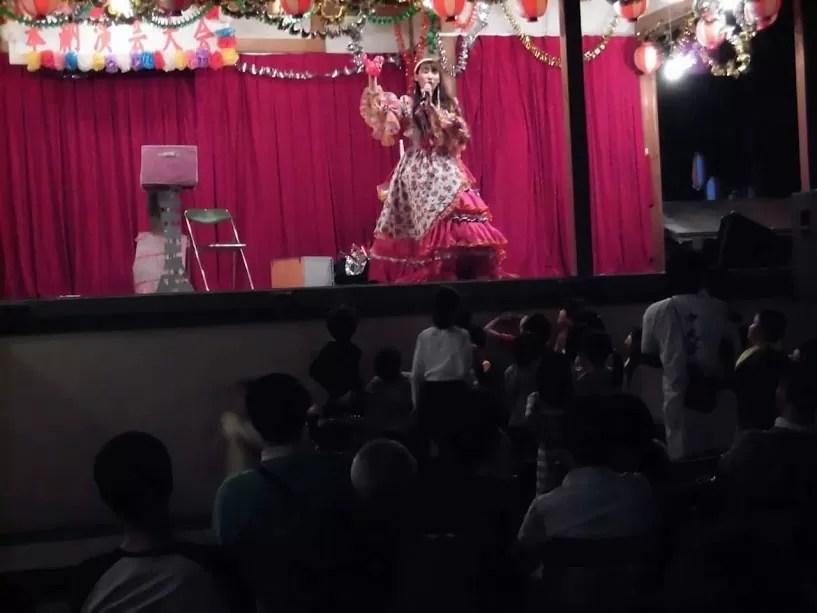 中丸子 秋祭りでマジック
