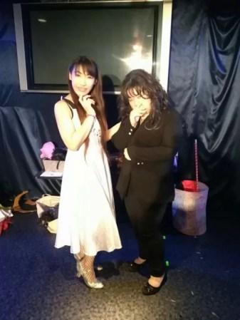富山 女性マジシャン荒木巴