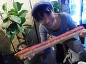 釜山 牛刺し寿司
