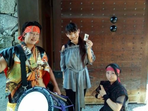 長野県上田市にてお客様感謝祭で余興マジック