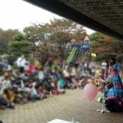 栃木県宇都宮 八幡山公園まつりで出張マジック