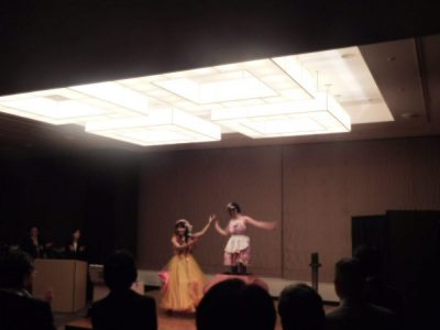 神戸・企業様懇親会パーティの余興でイリュージョン