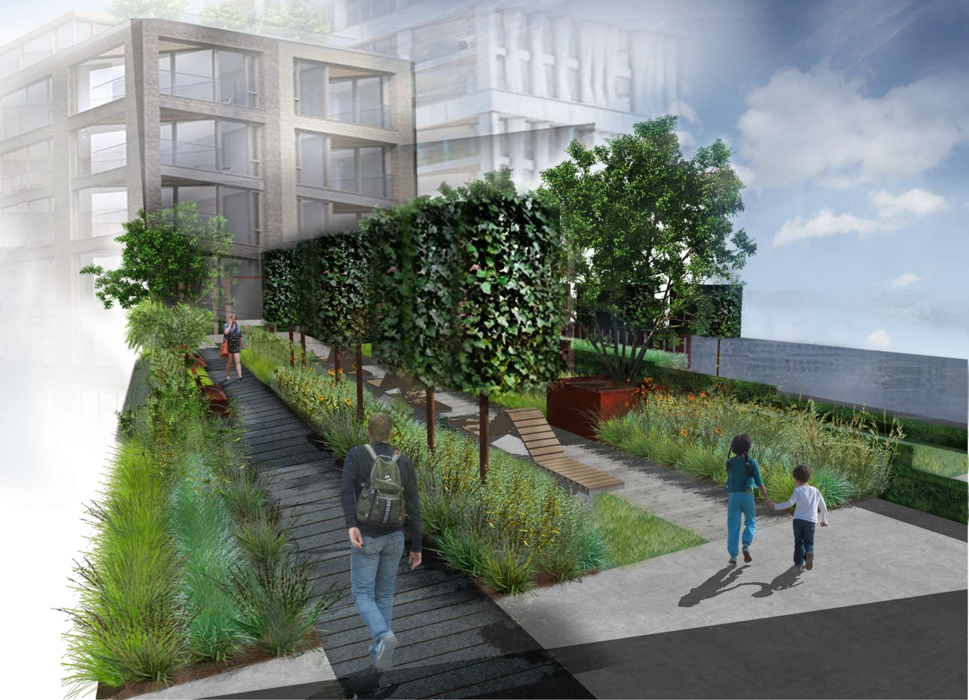 Chelsea Creek Public Realm Concept Aralia Garden Design