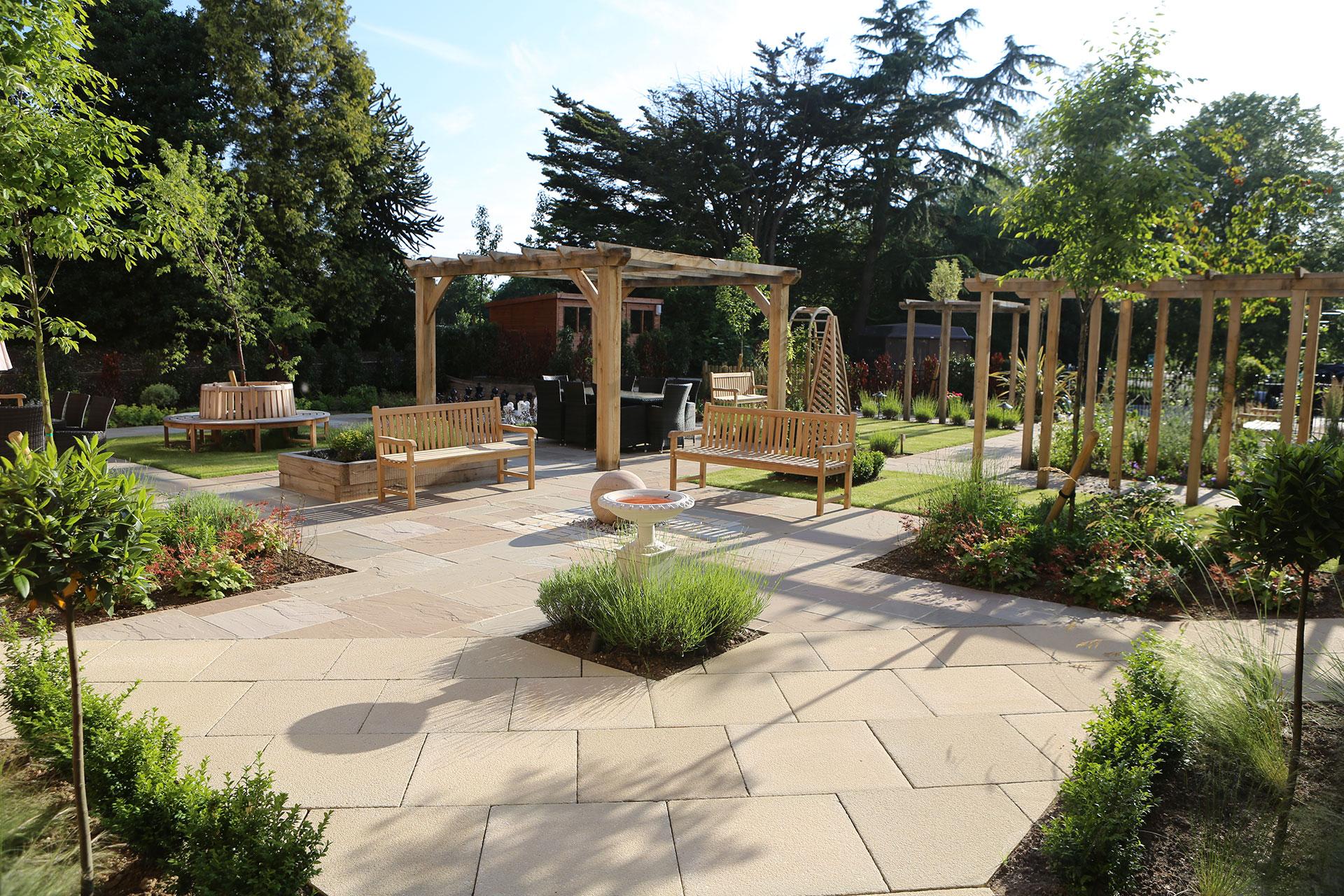 PARK VIEW CARE HOME IPSWICH | Aralia Garden Design ... on Home Backyard Ideas  id=64150