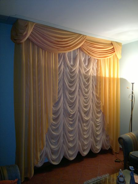 La tenda a pacchetto con pieghe fisse è una. Aral Tendaggi Scheda Prodotto Tende Da Arredamento Tenda Con Mantovana E Pacchetto Bouillonne