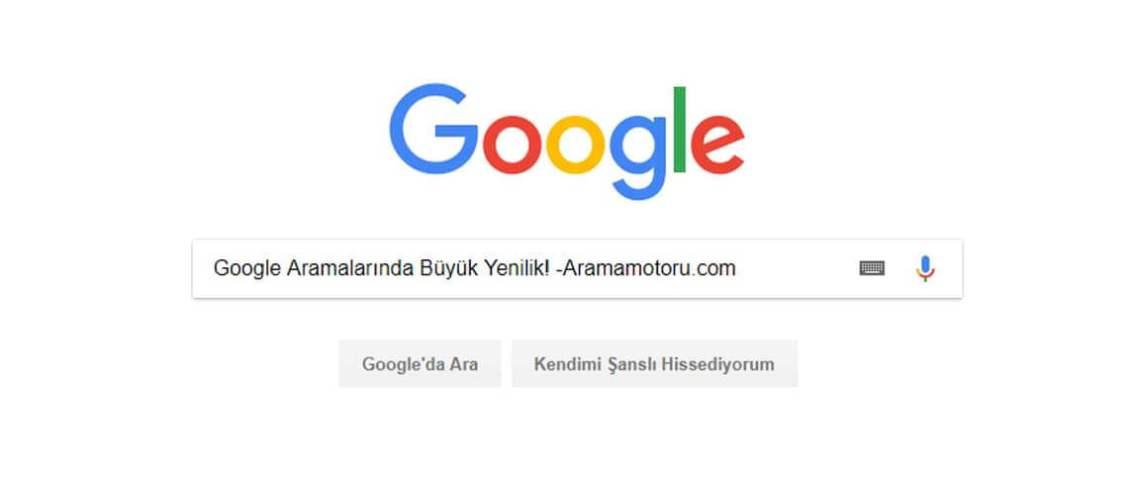 Google aramalarına önemli gelişme
