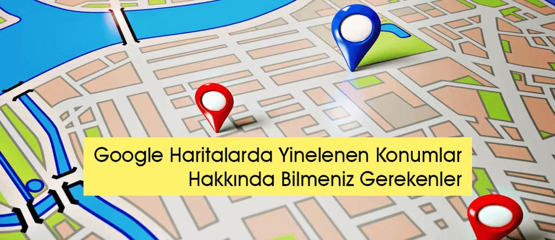 Google Haritalar'da Yinelenen Konumlar Hakkında Bilmeniz Gerekenler