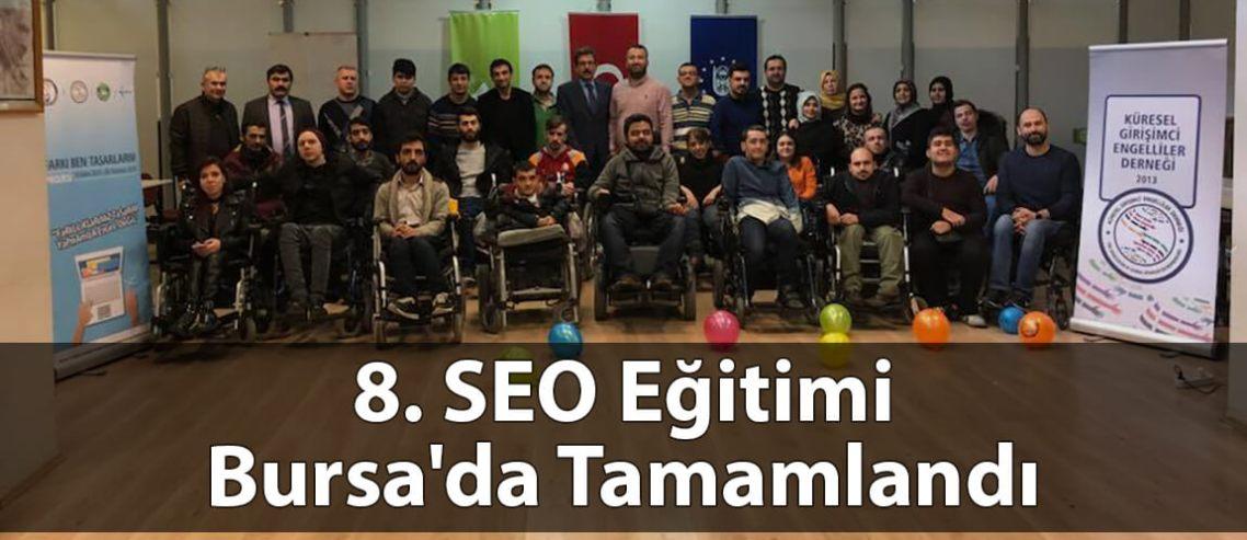 8. SEO Eğitimi Bursa'da Tamamlandı