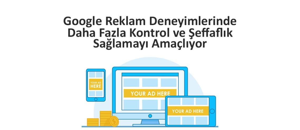 Google Yeni Reklam Ayarları