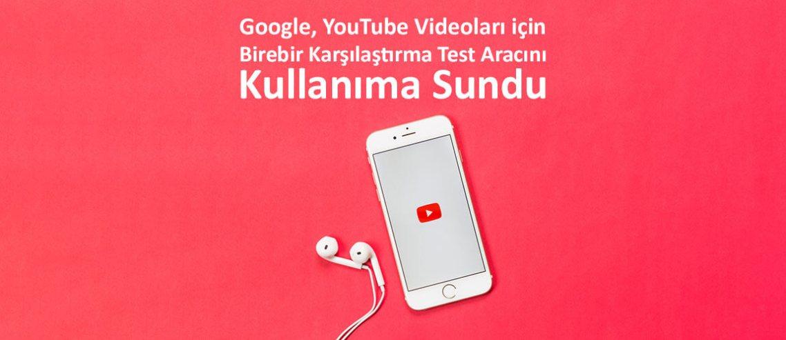 YouTube Videoları için test aracı