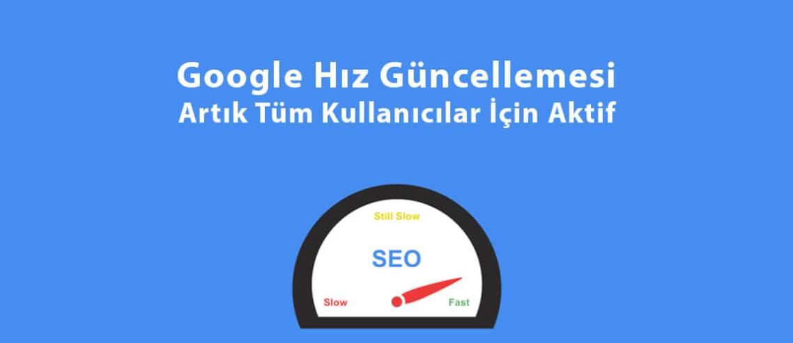 Google Hız Güncellemesi