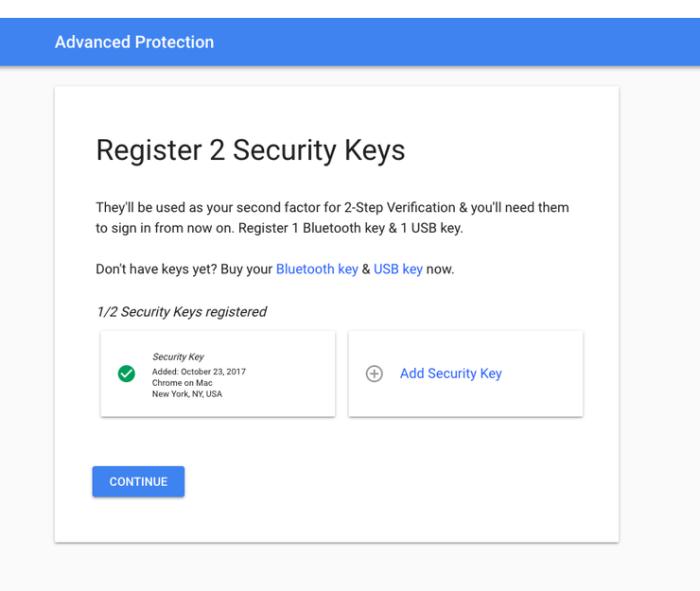 Google Gelişmiş Koruma Programı