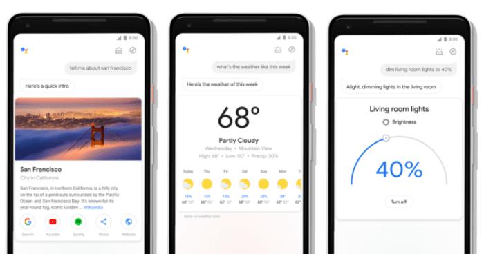 Google Asistan Yeniden Tasarlandı