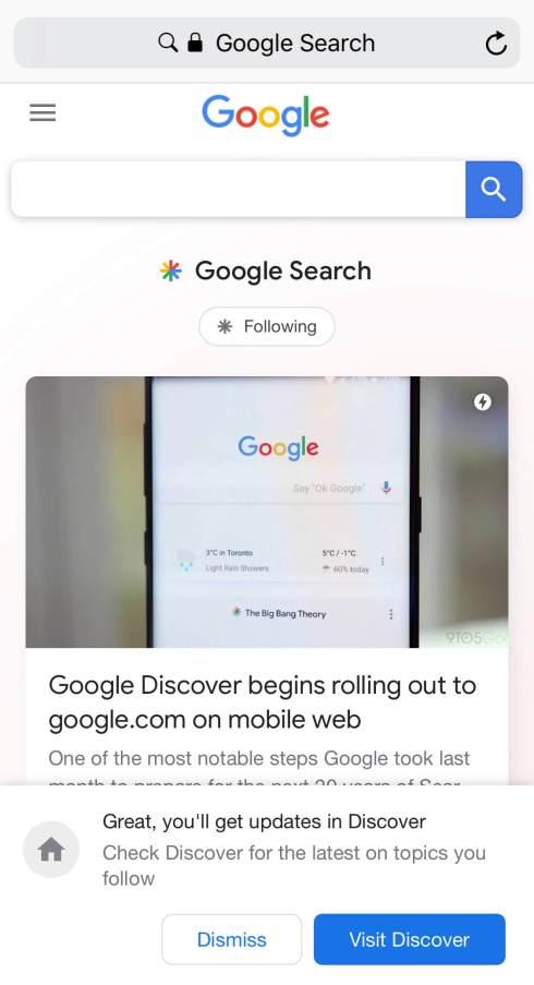 google-yeni-mobil-ana-sayfa-tasarimi-konulari-takip-etme-ozellegi