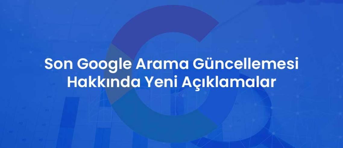 Son Google Arama Güncellemesi