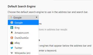 Firefox'ta Varsayılan Arama Motoru Nasıl Değiştirilir?
