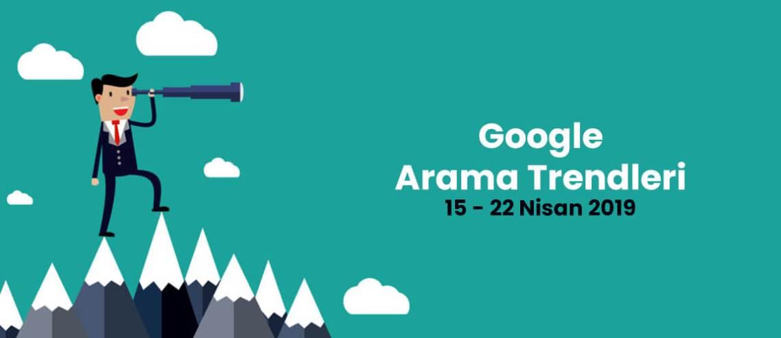 Google arama trendleri