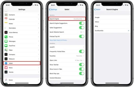 iPhone'de Varsayılan Arama Motoru Nasıl Değiştirilir?
