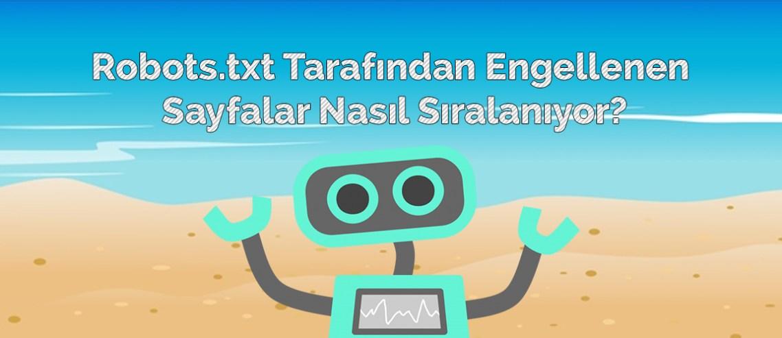 Robots.txt Tarafından Engellenen Sayfalar Nasıl Sıralanıyor?