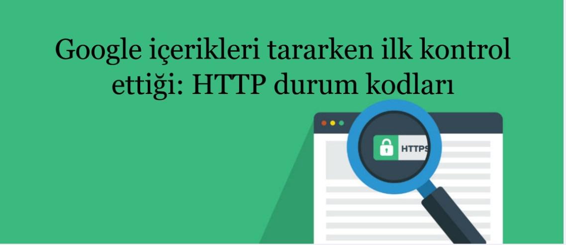 HTTP durum kodları tarama önceliği
