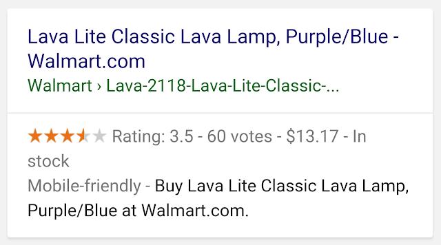 Google Search ürün zengin sonuçları görünümü