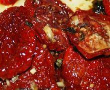 Pomodori secchi sottolio