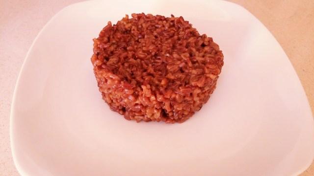 riso rosso integrale-arancione e viola