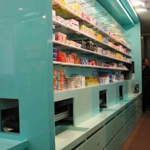 habillage sur-mesure pour un robot distributeur de médicatments