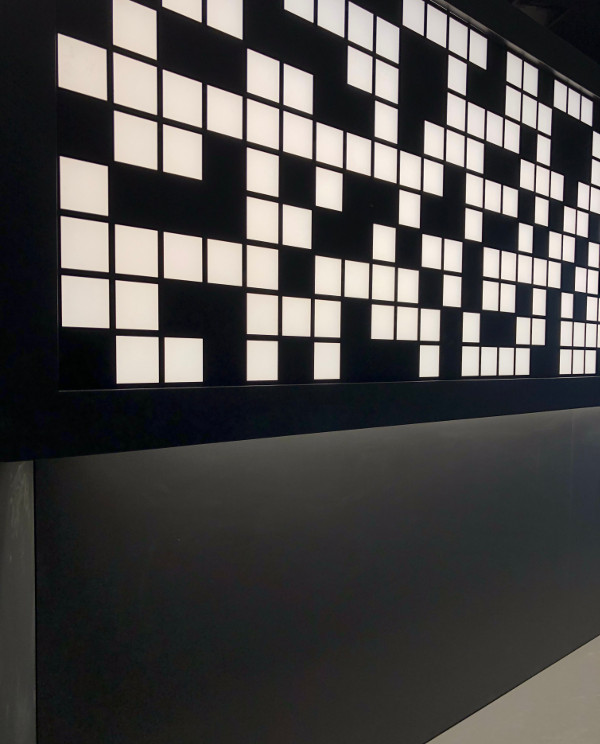 accueil innovant pour studio high-tech