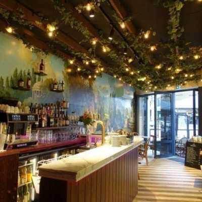 Agencement intérieur du nouveau restaurant des Thermes