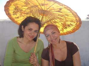 bajo el paraguas de Lita