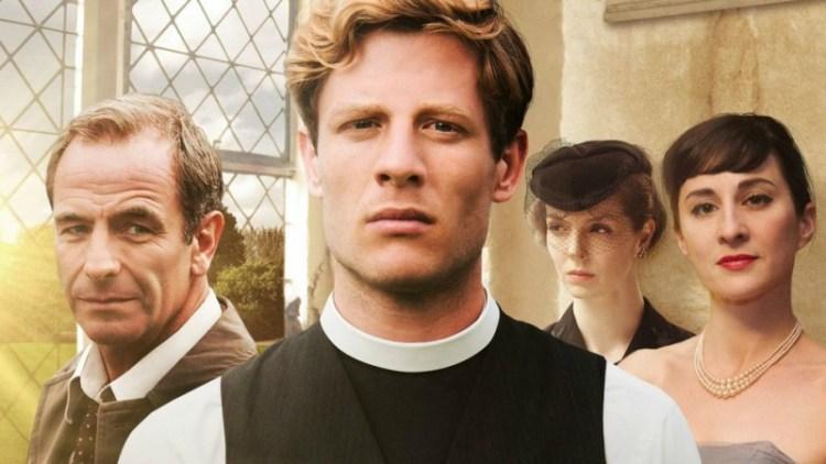 Grantchester - Series | period drama para ver este otoño