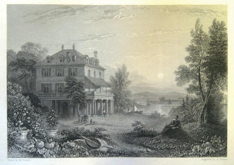 Villa Diodati por Purser y Pinden - En una noche oscura y tormentosa...| 1816, el año sin verano