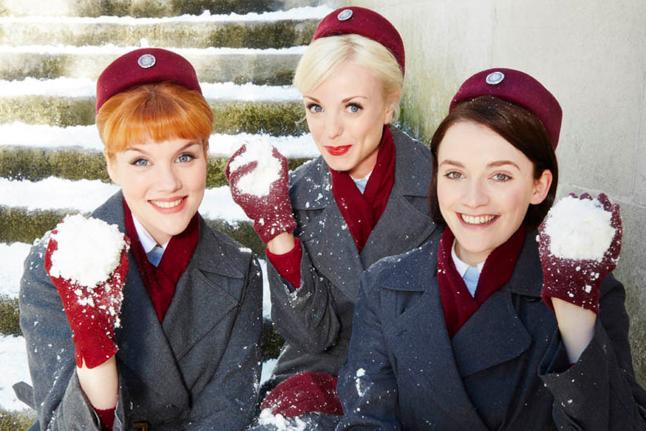 Series y películas de Navidad: Llama a la comadrona