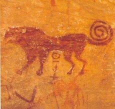رسوم حجرية بالطاسيلي الجزائر