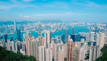 "ALT=""hongkong sky terrace view with a travel guide"""