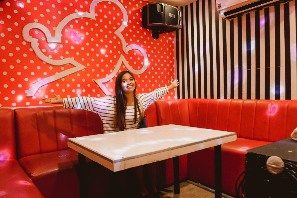 """ALT=""""happiest place on earth at mickey mouse ktv room"""""""