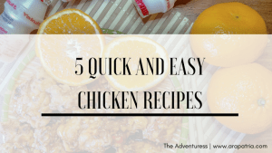 5 Quick and Easy Chicken Recipes to Make at Home