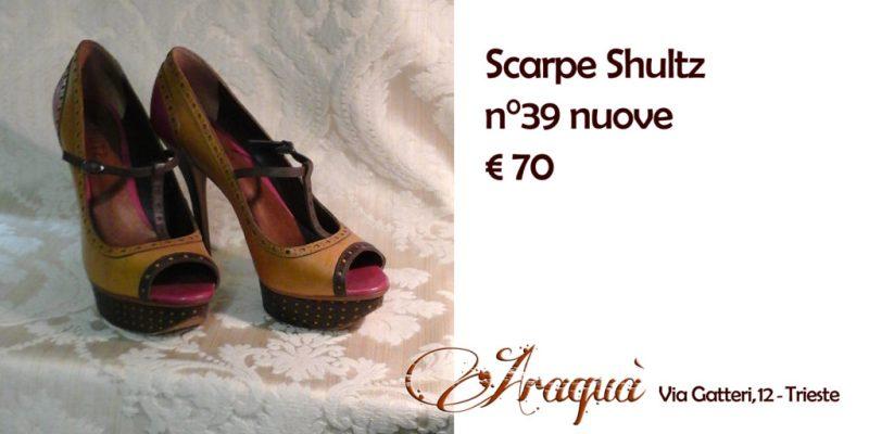 Scarpe Shultz n°39 nuove - € 70