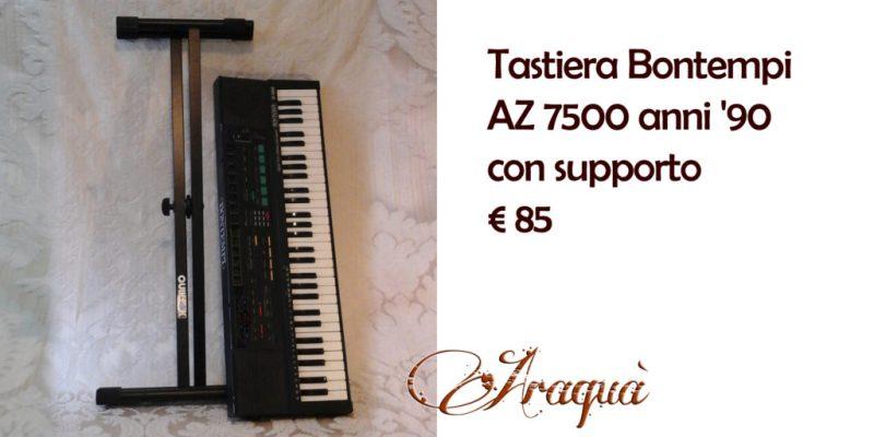Tastiera Bontempi AZ7500 anni '90 con supporto - € 85