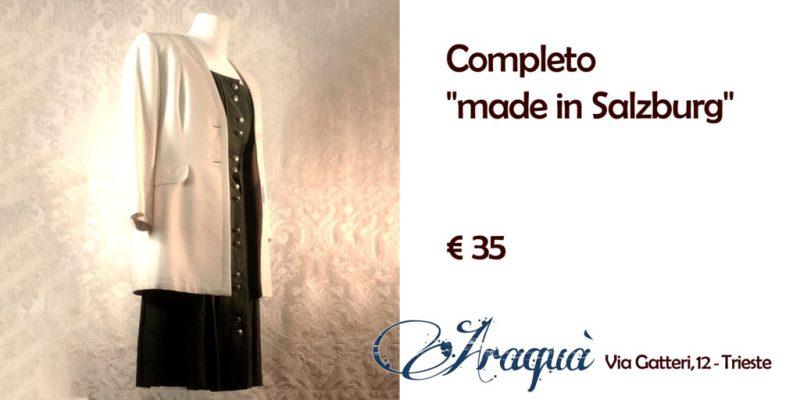 "Completo ""made in Salzburg"" - € 35"