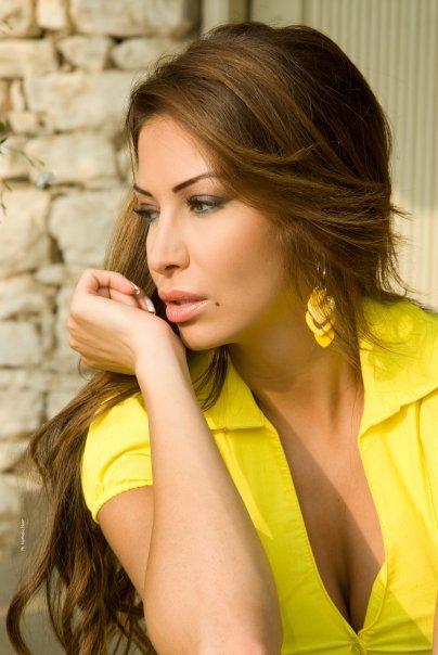 Miss Lebanon 2001 2002 Christine Sawaya