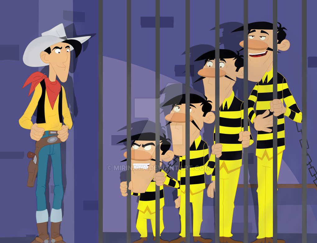Source : Lucky Luke and the Daltons by Marinate - http://mirinata.deviantart.com