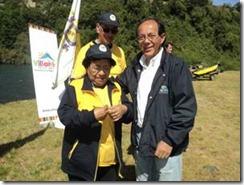 Gobierno regional y deportistas abrieron pesca recreativa en Villarrica